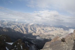 Panorama z grani
