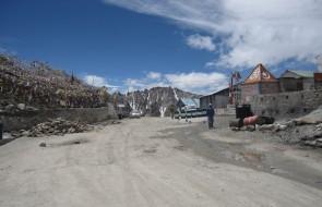 Na przełęczy Kardung La