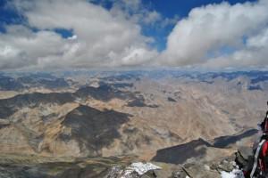 Widok z Kang Yatze na Karakorum