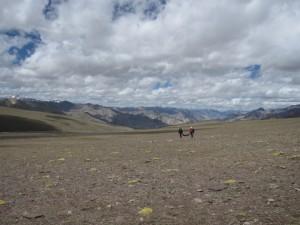 Z przełęczy do Nyimalingu