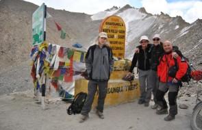 Na przełęczy Khardung La