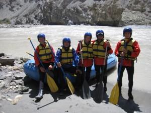 Wypływamy na wody Zanskaru