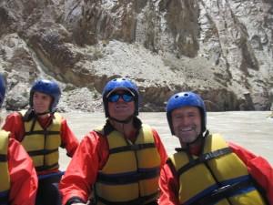 Radość z raftingu Zanskarem
