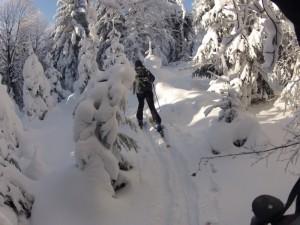 Śnieg na Kozilcach