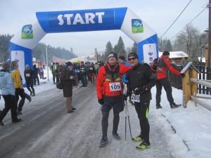 Rychu i Jurek przed startem
