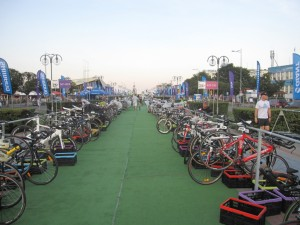Rowery czekają na jeźdźców