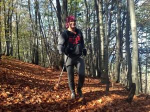Urok biegania w Beskidzie Niskim