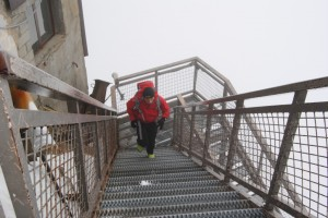 Trening na schodach
