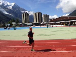 Stadion lekkoatletyczny w Chamonix