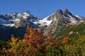 Jesień w Dolinie Kieżmarskiej